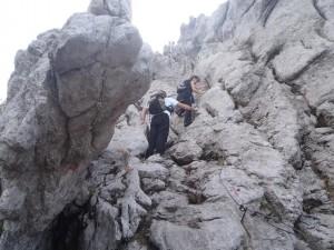 Uspon na Bijele Stijene
