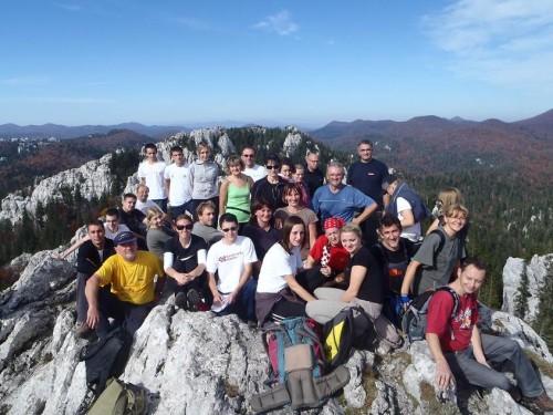 Na vrhu - 7. planinarska škola PD Karlovac