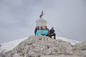 Na vrhu Triglava
